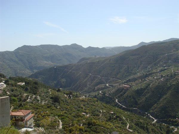 View from Lentegi