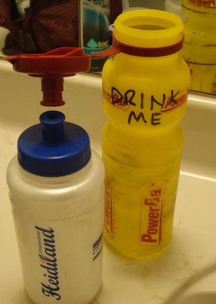 Helpful reminder on my gel bottle