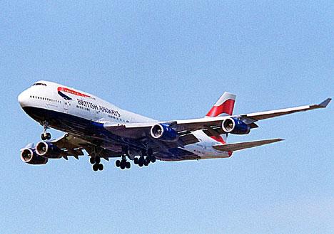 BA Jumbo Jet