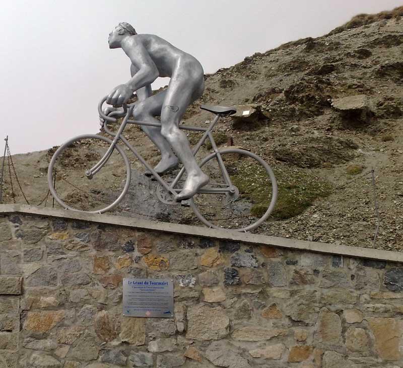 Tourmalet Cyclist