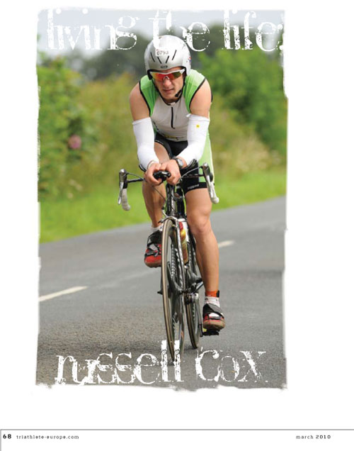 Triathlete Europe Article - Russell Cox