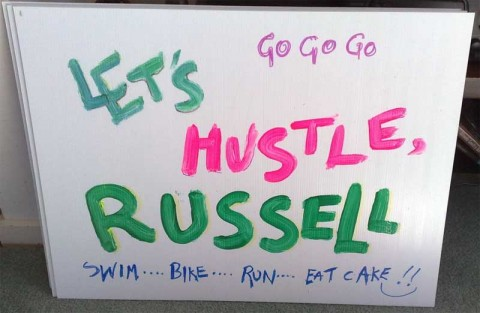Let's Hustle Russell - Ironman New Zealand Motivation