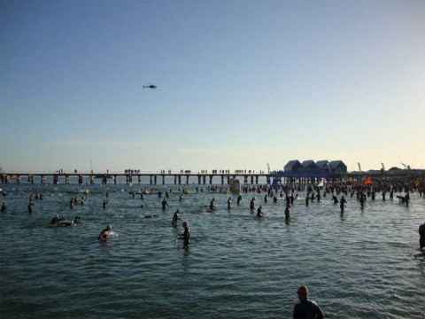 The Ironman Swim - a relaxed start