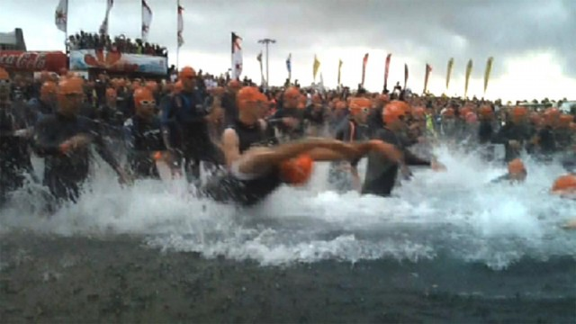 Ironman Lanzarote 2011 - Swim Start