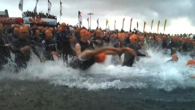 Ironman Lanzarote 2011 - Swim Start