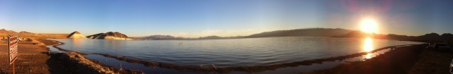 Lake Mead at dawn