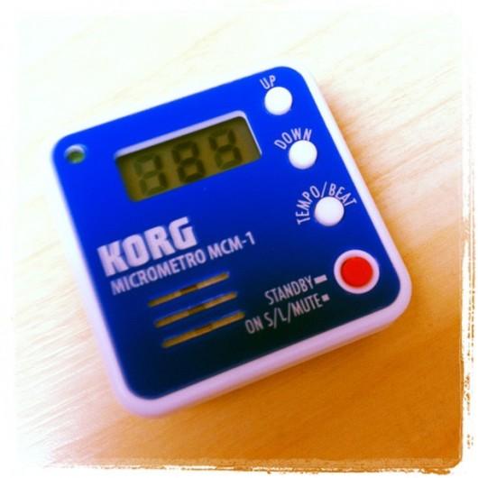 Korg Micrometro MCM-1 - Metronome for Running