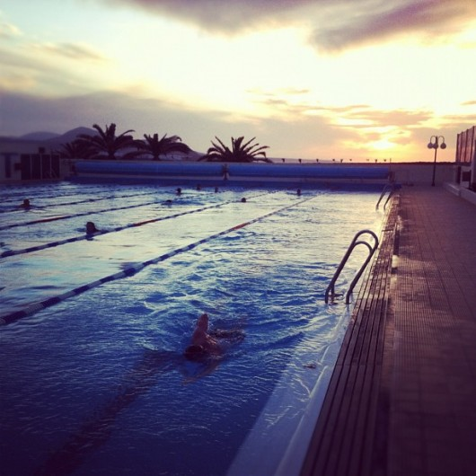 Coach Cox Early Evening Club La Santa Swim Session
