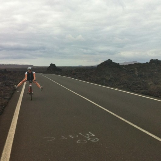 Lanzarote - Serious Training on the El Golfo Loop