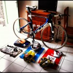 Ironman Lanzarote race preparations - bike and bags