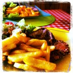 Lunch Stop - Entrecôte and Frites on the Cols d'Aspin