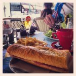 A leisurely lunch stop in Luchon