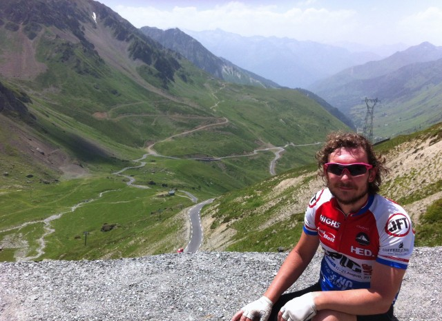 At the Top of the Tourmalet