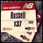 Challenge Roth 2012 - Russ Cox's Race Number