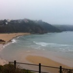 Tenby North Beach - Swim Start for Ironman Wales