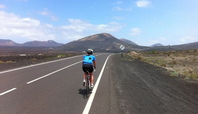 Riding in Lanzarote