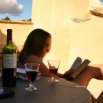 Relaxing in Lourmarin