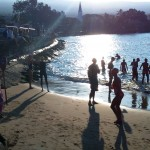 Ironman World Championship 2010: Sunrise at Dig Me beach, Kona, Hawaii