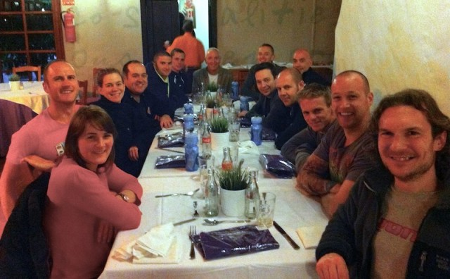 Lanzarote Training Camp 2013 Welcome Dinner