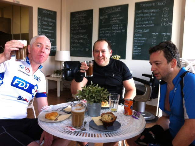 The essential coffee and cake stop