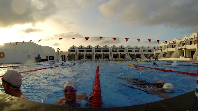Lanzarote Training Camp Day 3: Swimming