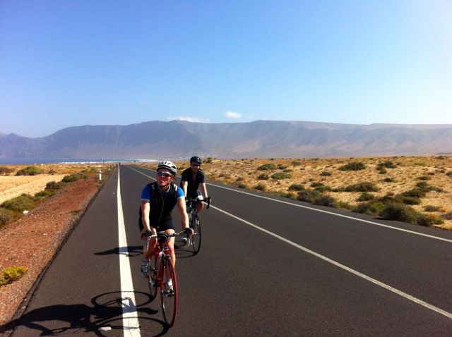 Lanzarote Training Camp: Day Two Riding