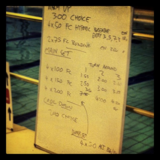 Tuesday Swim Session