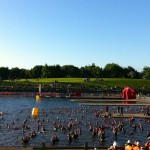 Outlaw Swim Start