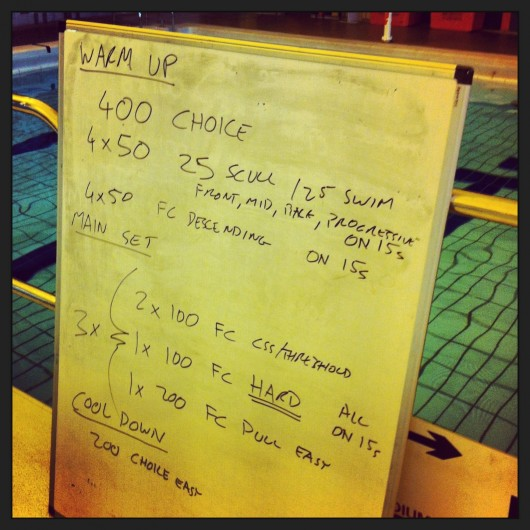 Swim Session - Tuesday 2nd July 2013