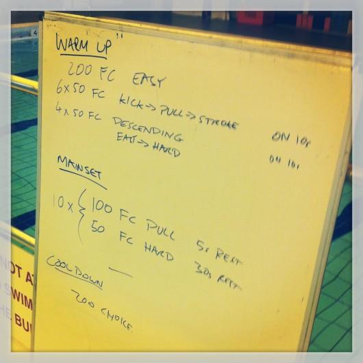 Swim Session - Tuesday, 3rd September 2013