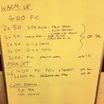 Swim Set - Tuesday, 24th September 2013