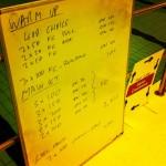 Swim Set - Tuesday, 7th January 2014