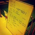 Swim Set - Tuesday, 14th January 2014