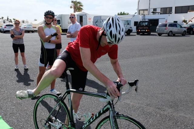 Bike Mounting in T2