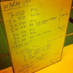 Tuesday, 18th March 2014 - Endurance Swim Session
