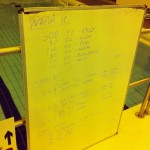 Tuesday, 3rd June 2014 - Endurance Swim Session