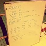 Tuesday, 5th August 2014 - Endurance Swim Session