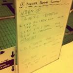 Tuesday, 21st October 2014 - Endurance Swim Session