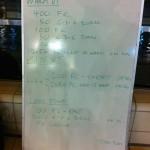 Wednesday, 12th November 2014 - Endurance Swim Session