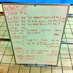 Wednesday, 28th January 2015 - Endurance Swim Session