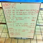 Wednesday, 28th January 2015 - Endurance Swim Session