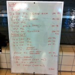Wednesday, 7th January 2015 - Endurance Swim Session