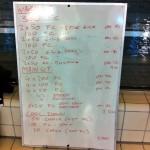 Wednesday, 7th January 2015 - Endurance Swim Session