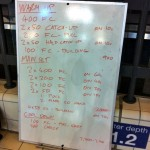 Wednesday, 14th January 2015 - Endurance Swim Session
