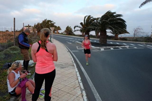 Handicap Run Finish