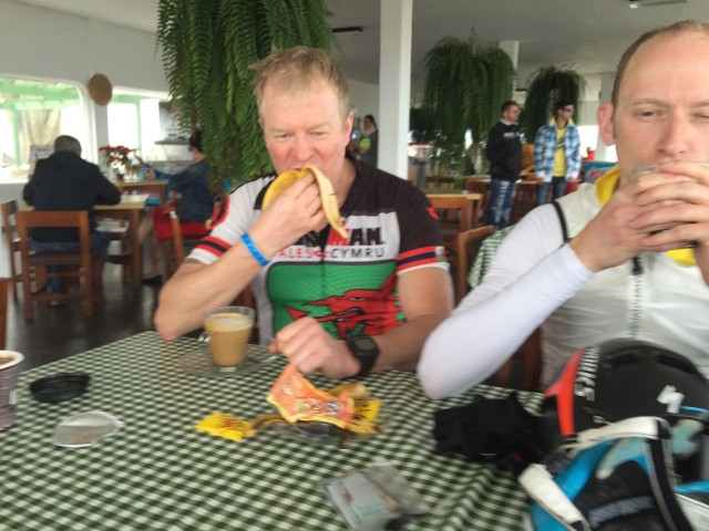 Coffee Stop and Refuelling