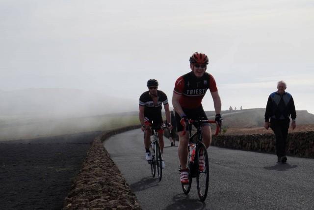 Nearing the summit