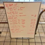 Wednesday, 15th April 2015 - Endurance Swim Session