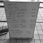 Wednesday, 13th May 2015 - Endurance Swim Session