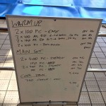 Wednesday, 20th May 2015 - Endurance Swim Session